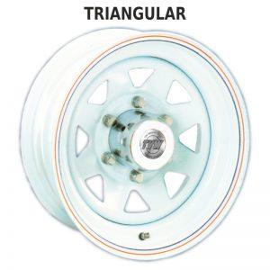 Triangular Blanca